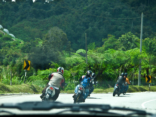 IMG_2380  Motorcyclists - Cameron Highlands