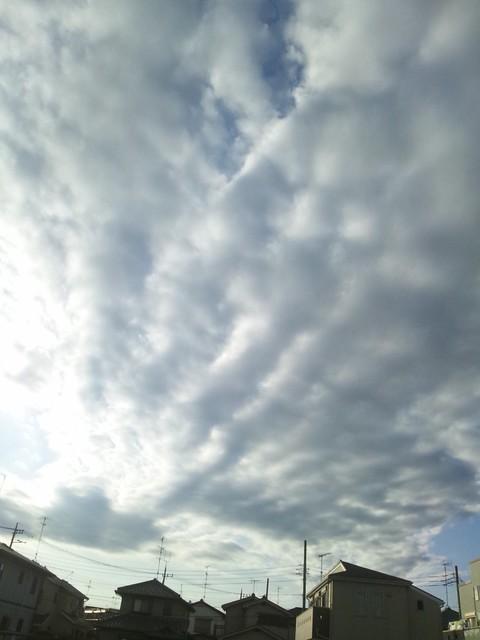 2011/10/26の空の写真