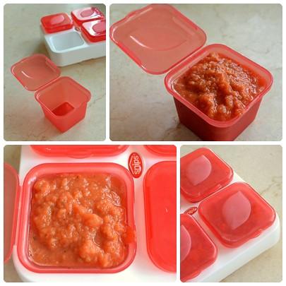 freezing sauce