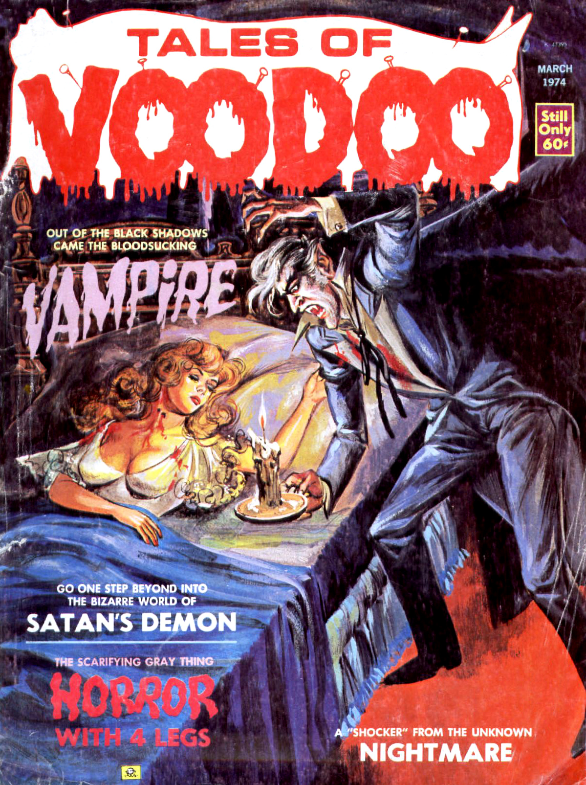 Tales of Voodoo Vol. 7 #2 (Eerie Publications 1974)