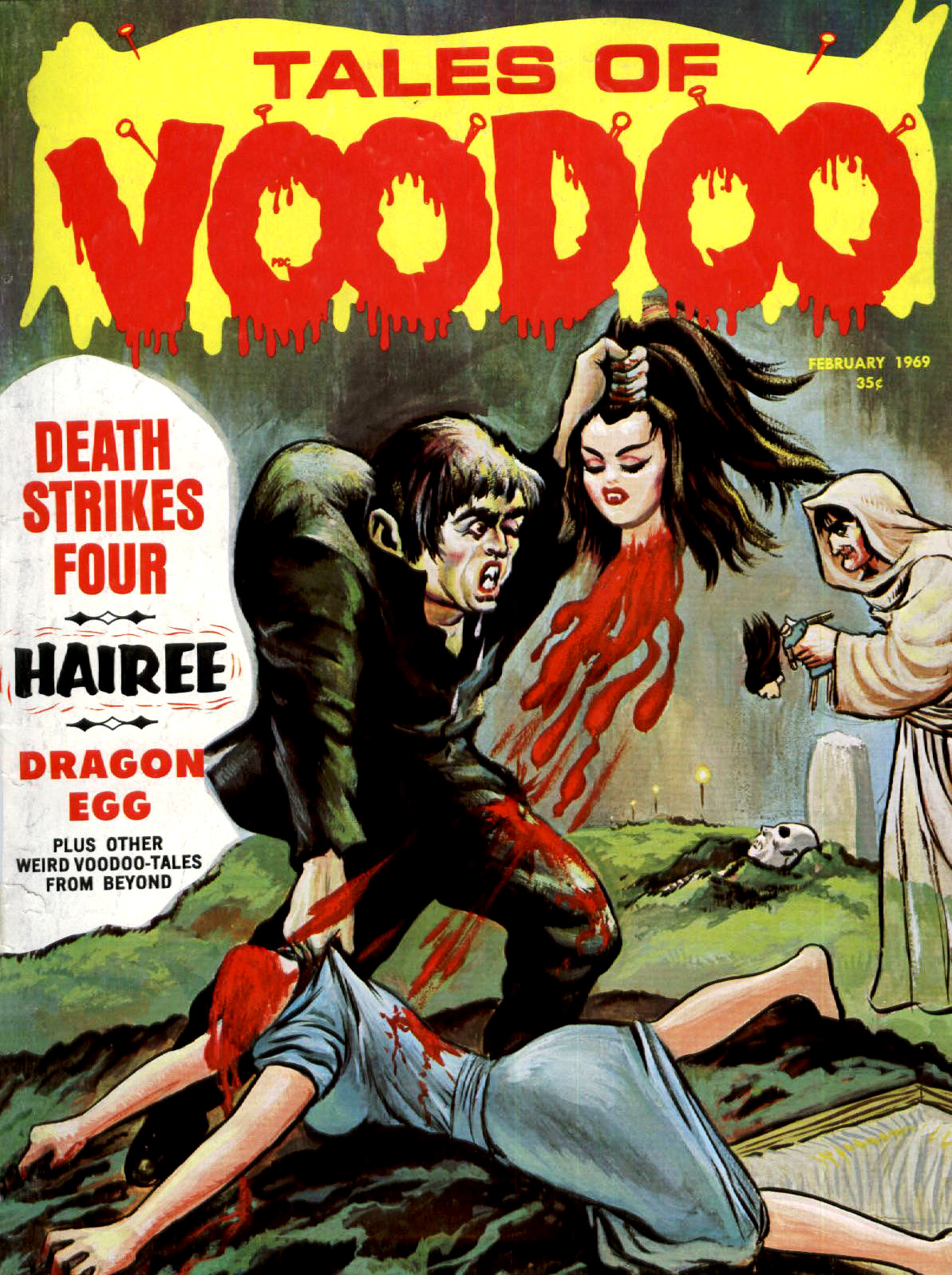 Tales of Voodoo Vol. 2 #1 (Eerie Publications 1969