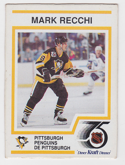 Kraft Dinner - Mark Recchi - Front