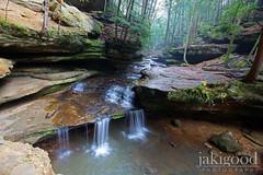 creek @ old man's cave (jaki good miller) Tags: nature interestingness explore waterfalls exploreinterestingness jakigood hockinghills oldmanscave top500 explorepage streaminforest explored