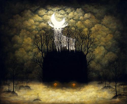 Dark and Light Radiate the Night