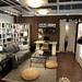 イケアの家具で作るリビング兼ワークスペースの写真