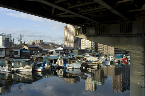 The remained and forgotten fishing village in Tokyo Bay