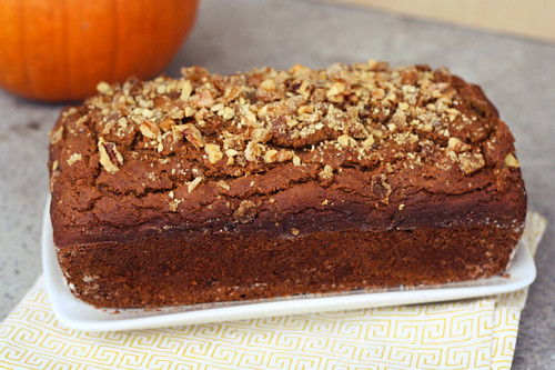 0f8ee61002e266 Gluten-Free Pumpkin Spice Bread with Crystallized Ginger and Walnuts ...