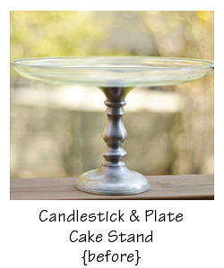 cake stand - before