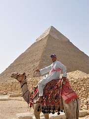 And Pose He Did! (The Spirit of the World) Tags: history ancienthistory egypt cairo camel pyramids local ancientcivilization giza thepyramids mygearandme mygearandmepremium ringexcellence
