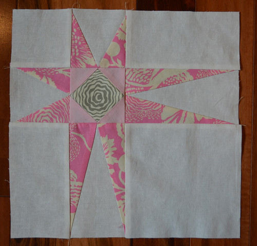 Peaky Star - Mystery Quilt QAL