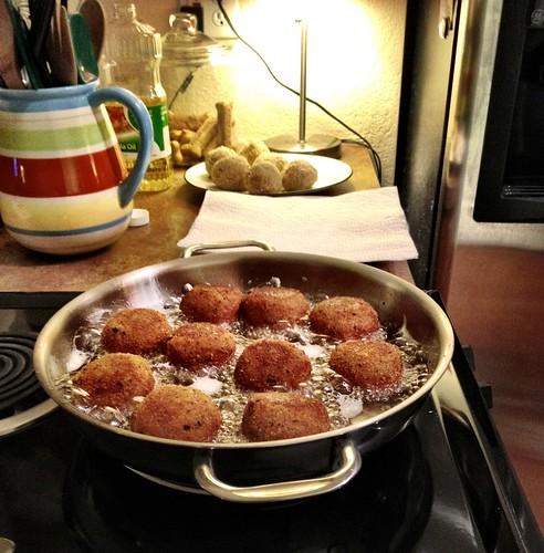 Riceballs.