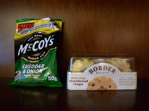 McCoy's Crisps and Border Biscuits Shortbread Rings