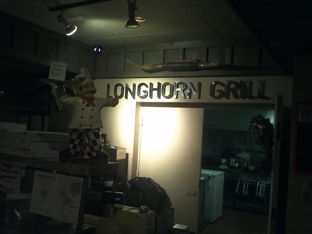 (dj) longhorn grill(e)