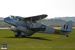 G-AIYR - HG691 - 6676 - Private - De Havilland DH-89A Dominie - Helitech 2011 Duxford - 110928 - Steven Gray - IMG_9466