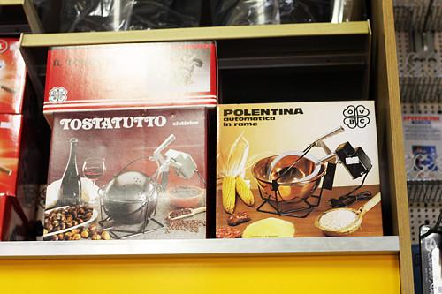 polenta machine