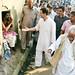 Rahul Gandhi at Kurakhiya Village in Chandaulii