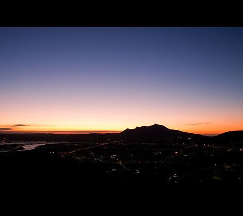 [scenery] [103/365] 日落觀音山 (sunset Buddha mountain)