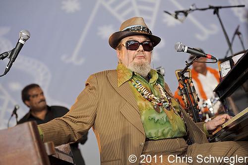 Dr John - 10-30-11 - Voodoo Festival, City Park, New Orleans, LA