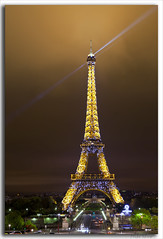 All That Glitters......... (M. Shaw) Tags: lighting longexposure paris france building history monument architecture night canon lights europe downtown cityscape eiffeltower historic lighttrails latour cloudynight 2470mmf28l mshaw 5dmark2 canoneos5dmarkll nightsbestimages