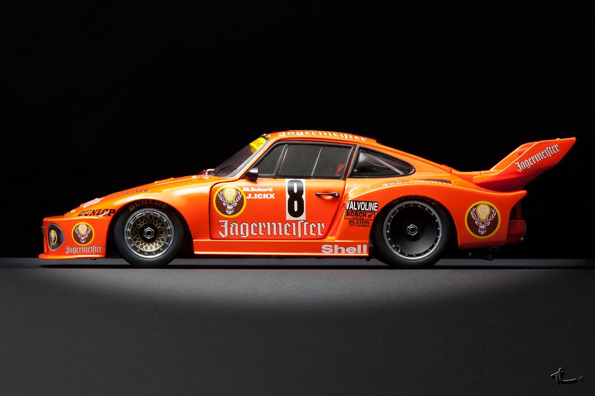 Porsche 935 8 Jagermeister Max Moritz 78 Dx