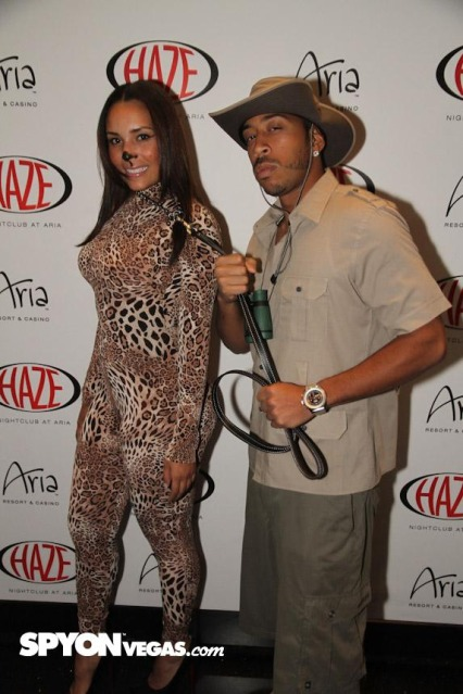 Ludacris-and-Girlfriend-Euxodie-Halloween