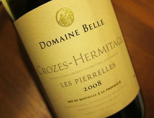 2008 Crozes-Hermitage Les Pierelles