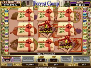 Forrest Gump bonus game