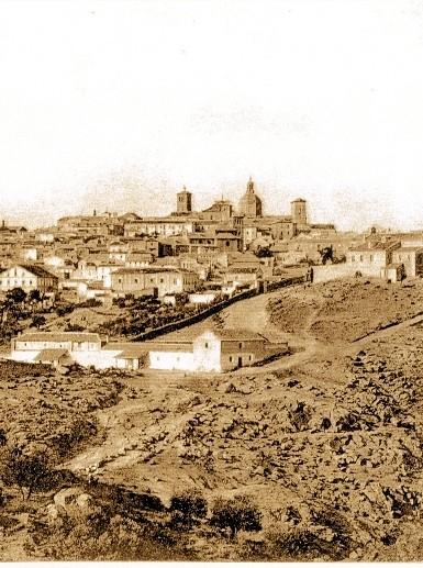 Cerro de la Ermita de la Cabeza y Toledo al fondo