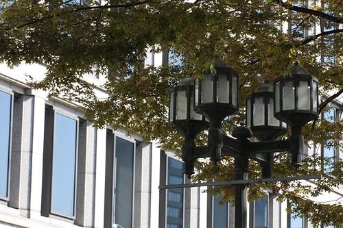 ビルの秋 / Urban air
