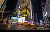 Times Square lights (bgspix) Tags: city nyc ny newyork building night lights us interesting place manhattan taxi broadway yellowcab timessquare crossroad nuit lumières canon60d taxijaune eos60d benjamings bgsphotography