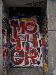 Sickboy 1 (Penelope Hush Hush) Tags: street urban london word graffiti tag mother sickboy graff bricklane ldn truemanbrewery