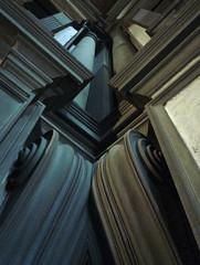 Michelangelo, Lauratian Vestibule Corner