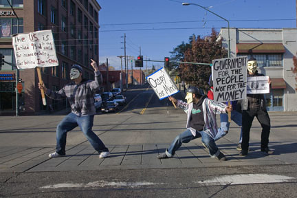 Occupy Tacoma Protest Camp