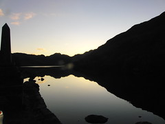 Crafnant Lake 2 Sunset (Alex Staniforth: Wildlife/Nature Photography) Tags: sunset lake alex reflections shadows valley conwy capel staniforth curig crafnant
