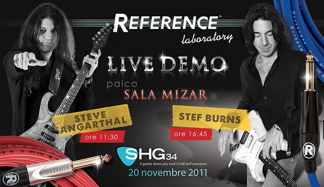 Reference Laboratory LIVE DEMO con Stef Burns & Steve Angarthal - scarica il banner completo su Flickr...