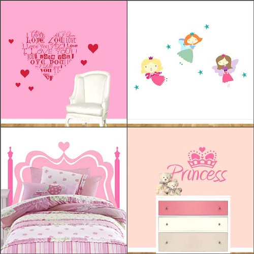 stickers-for-girls-room-s