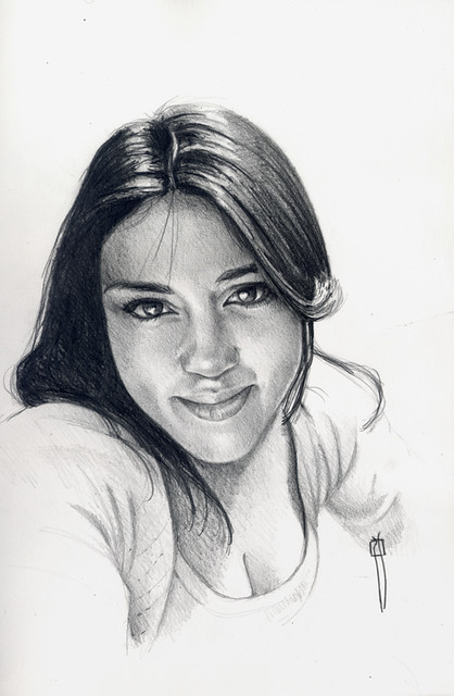 Portrair of Blanca