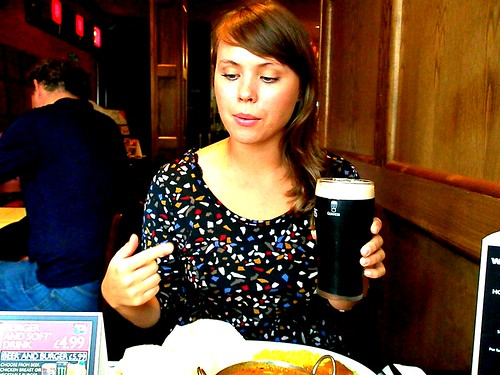 Lunch-guinness at Wetherspoons