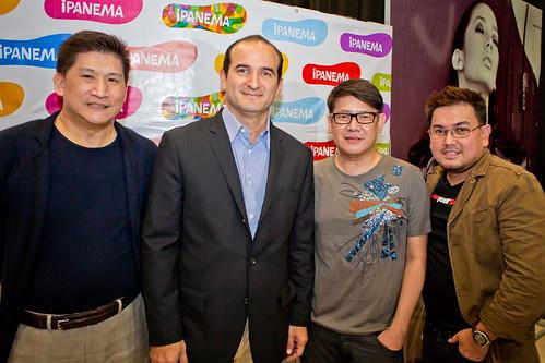 Patxi with designers