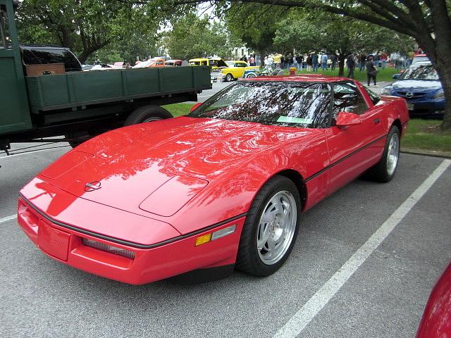 chevy corvette 1990 carshow c4 zr1 laurelmd laurellionsclub