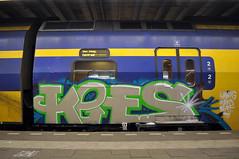 Trein (Marker) Tags: train graffiti ns denhaag thehague trein