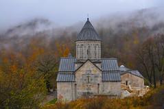 church in dilijan (alllegra) Tags: autumn mountains fall church foliage armenia ler excursion avc hayastan dilijan alllegra birthrightarmenia depihayk armenianvolunteercorps