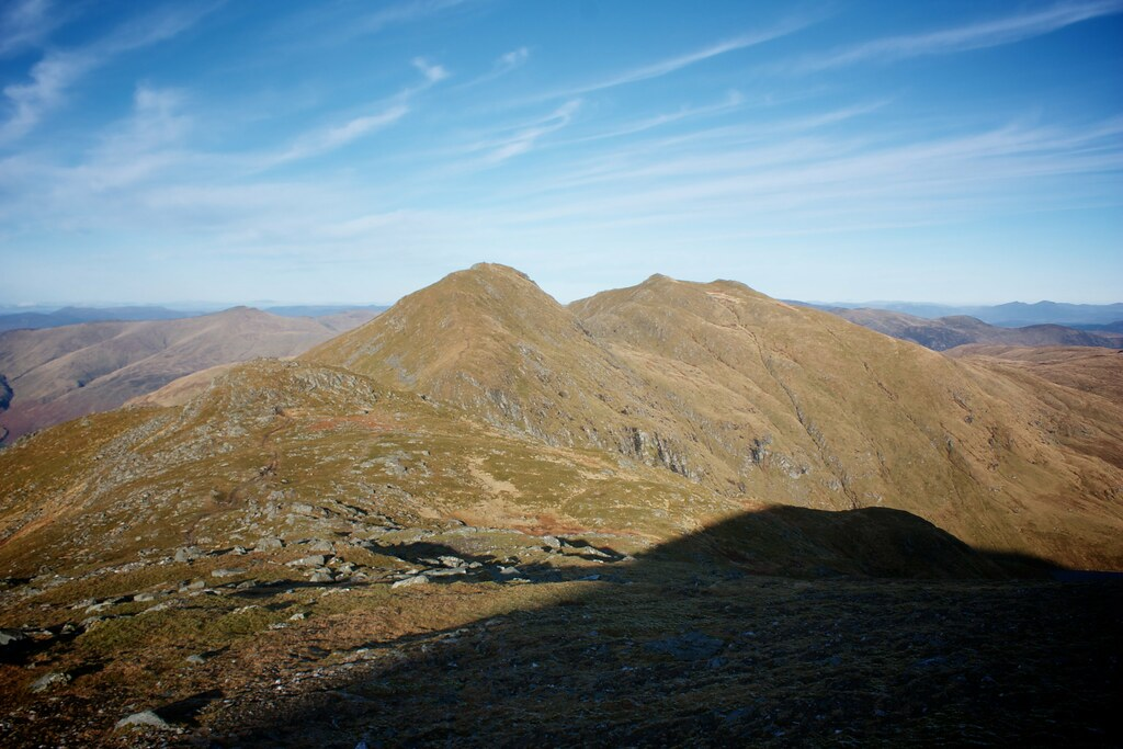 Creag an Fhithich, An Stuc and Meall Garbh