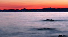 DSC1020 (dav_pas) Tags: longexposure light sunset seascape france night landscape island rocks long exposure artificial paca cap var rockscape esterel dramont poselongue lungaesposizione capdramont iledor milkyeffect portpoussai