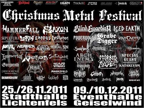 CHRISTMAS METAL FESTIVAL www.rock-in-concert.de 6337034933_216a95b583