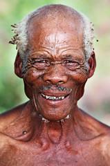 bushmen tribesman (www.igorbilicphotography.com) Tags: africa portrait people san desert retrato chief tribal getty botswana tribe namibia kalahari indigenous bushmen gobabis igorbilic