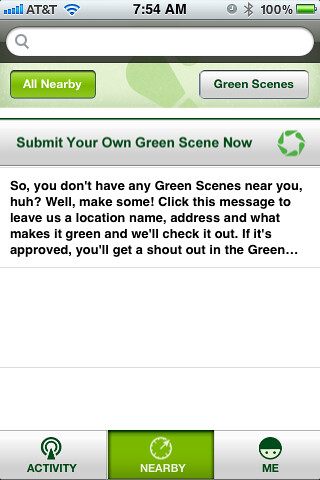 GreenSquare - Submit Your Own Green Scene Now