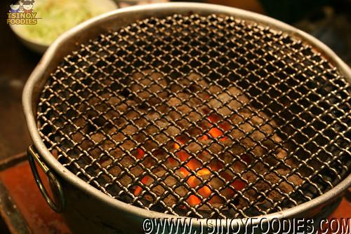 charcoal yakiniku