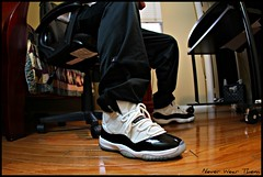 WDYWT 11-11-11 XI (Never Wear Them) Tags: white black you air 11 nike wear jordan what moment did concord today package patent dmp defining 2011 wdywt jordanxidmp