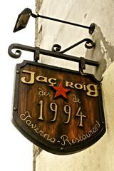 Jaç Roig. (JordiClarà..sobre-visc a Barcelona) Tags: restaurants gastronomia catalunya 1994 païsoscatalans anoia capellades estelroig jaçroig